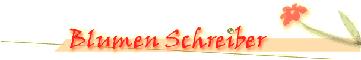 blumen-schreiber