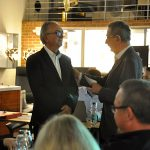 Weitere Ehrungen und Glückwünsche kamen auch von Heidenwags Vorgänger, dem GHV-Ehrenvorsitzenden Hugo Kunzi...