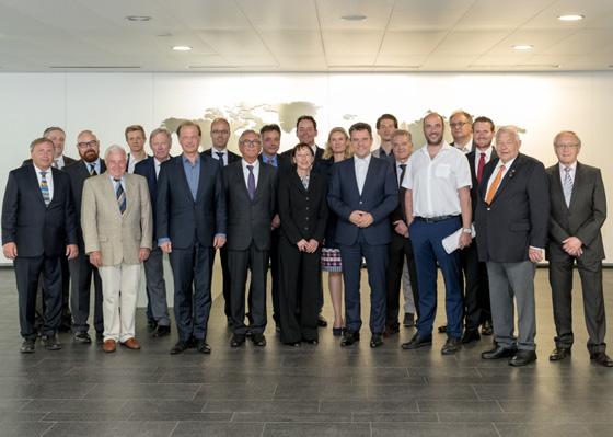 Gruppenbild der Bosch-Fotogruppe. Foto: A. Schmitt
